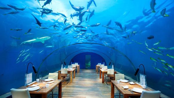 hilton underwater hotel